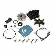 Water Pump Repair Kit For Glm 12560 Marine Outboard Engine Impeller Wear Plate