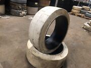 22x8x16 Wide Track Non Marking Press On Tire Forklift Tires Nashlift