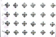 24 Pc. New Ceramic Knob Drawer Handle Door Pull Home Decor Halloween Gifts Pv-36