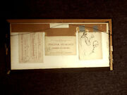 1921 Gertrude Whitney Drawings On Invitation Galeries Georges Petit Exposition