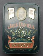 Jack Daniels Old Time Tennessee Whiskey Tin Box Vintage Gold Medal England