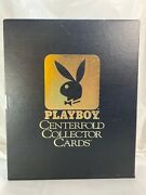 Playboy Centerfold Collector Cards Box Set Complete No Oct/duplicates Lot Of 17