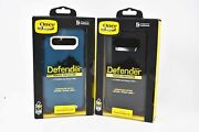 Otterbox Defender Series Case W/ Holster Clip For Samsung Galaxy S10+ Plus New