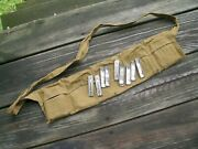 Belgium Fn-49 5 Round Stripper Clips Lot Of 10 With Original Bandolier 30-06