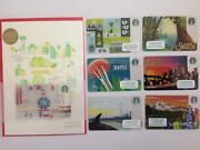 Starbucks Gift Card Seattle - Limited Edition - Full Collection 2011,14,15,16,17