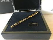 S.t. Dupont Neoclassique American Art Deco Large Fountain Pen Andnbsplimited Edition