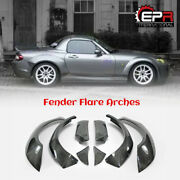 For Mazda Mx5 Roaster Nc Miata Carbon Tp Style Front And Rear Fender Flares 4pcs