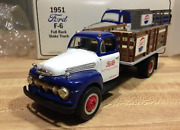 First Gear Diecast 1951 Ford F-6 19-1091 Pepsi Cola Full Rack Stake Truck [11]