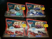 Disney Pixar Cars Movie Doubles Supercharged Series Toys R Us Exclusiveandnbsplot Of 4