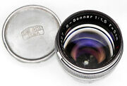 Carl Zeiss Jena R-sonnar 5cm F1.5 T X-ray Lens 2800427 .......... Very Rare