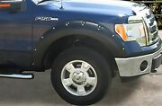 Stampede Ruff Riderz Fender Flare 4-piece Smooth For 2009-2014 Ford F-150 8422-2