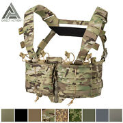 Direct Action Tactical Helikon Tex Chest Rig Vest Molle Operator Loaded Tempest