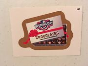 2016 Topps Wacky Packages Mlb Baseball Gold Parallel 65 Opening Day Chocolates