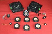 Bmw F13 640 650 M6 Front And Rear Bang And Olufsen Loud Speakers Tweeters Set Oem