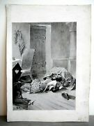 Drawing Original Josandeacute Roy 2 Mens In Earth Middle Ages End Xixth 1900