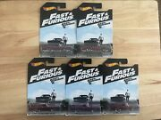 Hot Wheels Fast And Furious And03969 Dodge Charger Daytona Lot Of 5