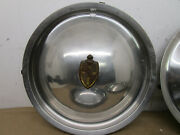 48-49 Lincoln Mark Continental Town Car Hubcaps Wheel Covers Set Of 4