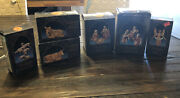Lot Of 6 Fontanini Nativity 5andrdquo Figures With Boxes