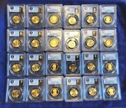 Pcgs Ms66 Ms67 Pr69 Dcam 60 Coin Set Presidential Dollars First Day Of Issue