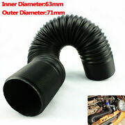 2.5 Flexible Hot Cold Air Intake Systems Duct Feed Hose Extendable Universal