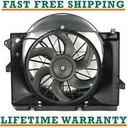 Radiator Condenser Fan For 90-97 Lincoln Fits Town Car 4.6l 5.0l Free Shipping