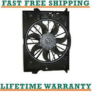 Radiator Condenser Fan For 06-09 Mercedes-benz Fits E350 3.5l V6 Free Shipping