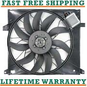 Radiator Fan For 00-03 Mercedes-benz Fits Ml55 Amg 5.5l V8 Free Shipping