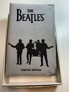 1990-apple Corps 1ozt .999 Silver Limited Edition The Beatles A Hard Days Night