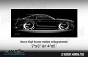 Big Banner And03905-and03909 Mustang Gt Boss 302 Ford 2005 2006 2007 2008 2009 S197