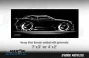 Big Banner And03916-and03918 Camaro Art - Chevy Ss 2016 2017 2018 Rs Chevrolet