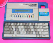 4 Mhz Z80 1988 Video Technology Pre Computer 1000 With General Knowlege Ii Tandy