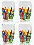 Glassware - Vernazza Stemless Wine   Old Fashioned Glasses - Set Of Four