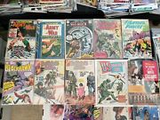 10 Dc Charlton War Comics Army At War Sgt Rock Fighting Forces