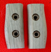 British Lee Enfield No.5 Jungle Carbine Bayonet Grips Fully Inletted Walnut Set