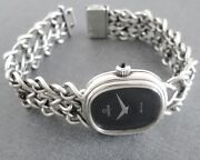Omega De Ville All Silver 925 Vintage 1974 Hand Winding Womenand039s Watch Andomega625 Cal.