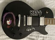 Paul Stanley Autographed Guitar Kiss Signed Guitar Custom Limited Edition Proof