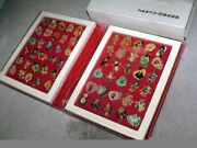 Sailor Moon S Ss Pins Collection Set Kanebo Prize W/special File Case Anime