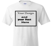 Custom Print On T Shirt As Photo Picture Text Logo Any Personal Photo Printing