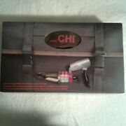 Mini Chi Pro Collection Low Emf Ceramic Flat Iron And Pro Hair Dryer W/bag And 4 2oz