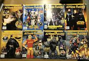 Tomart's Action Figure Digest Magazines Lot Of 8 Issues 130-139 Star Wars