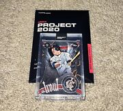 Topps Project 2020 Card 51 Mike Trout By Ben Baller 51 Ships Today