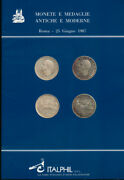 Hn Italphil Bar Coins And Medals Antique And Modern Rome June 1987 C538