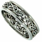 10k White Lochy Ring By Keith Jack