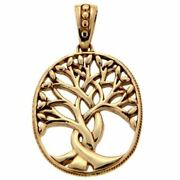 10k Yellow Tree Of Life Pendant By Keith Jack