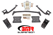 Bmr Suspension Torque Box Reinforcement Plate Kit Black For 79-04 Ford Mustang