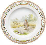 Dining Plate Perdix Cinerea Royal Kopenhagen Flora Danica Model 3549 1. Choice