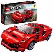Lego Speed Champions 76895 Ferrari F8 Tributo Toy Cars For Kids Building Kit ...