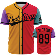 Bed-stuy Do Or Die - Do The Right Thing 80and039s Radio Raheem - Baseball Jersey