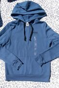 Vs Pink Pull Over Hoodie Brand New Size Small Old School Blue Logo