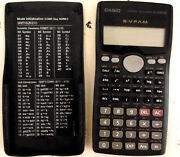 Vintage Electronic Calculator Casio Fx-570ms
